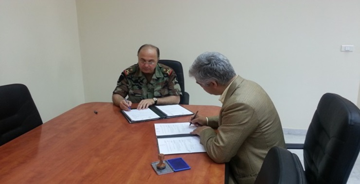 Partnership with the Lebanon Mine Action Center (LMAC) – Lebanese Army