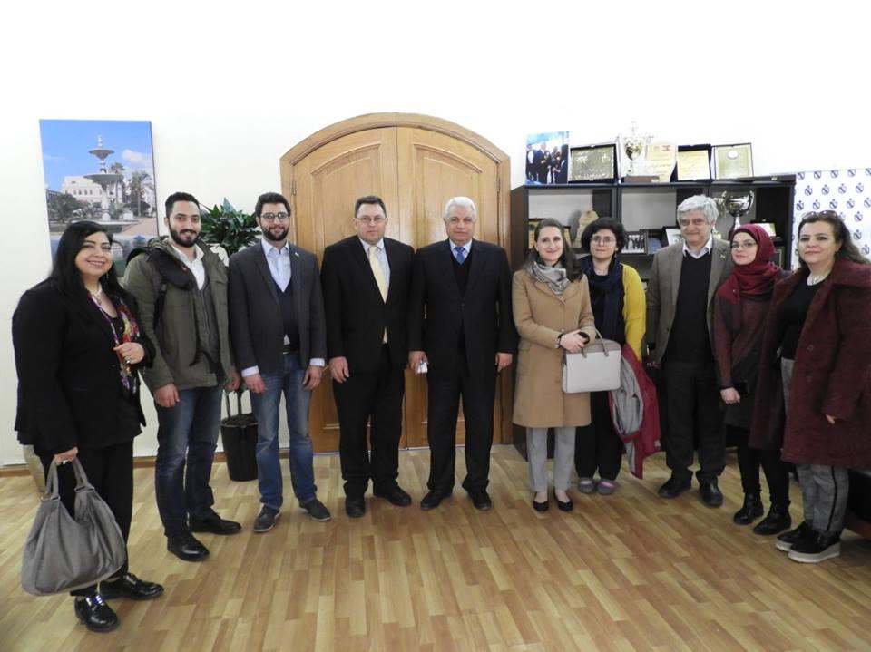 Swiss Delegation Visits